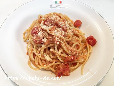 トマト缶とツナ缶の簡単絶品パスタ