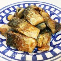 塩サバのパリパリ焼き