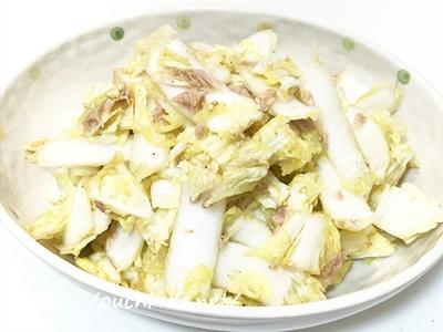 白菜のツナ和え