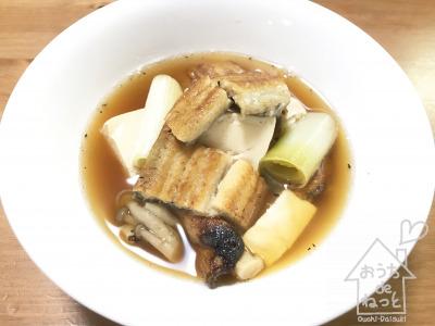 うなぎ豆腐(島根県の郷土料理風)